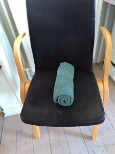 Håndklæde til bækkensbundstræning